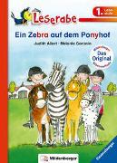 Cover-Bild zu Ein Zebra auf dem Ponyhof - Leserabe 1. Klasse - Erstlesebuch für Kinder ab 6 Jahren von Allert, Judith