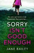 Cover-Bild zu Sorry Isn't Good Enough (eBook)