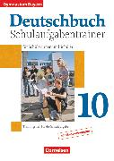 Cover-Bild zu Matthiessen, Wilhelm: Deutschbuch Gymnasium, Bayern, 10. Jahrgangsstufe, Schulaufgabentrainer mit Lösungen