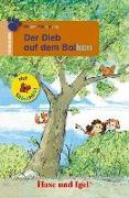 Cover-Bild zu Müntefering, Mirjam: Der Dieb auf dem Balkon / Silbenhilfe. Schulausgabe