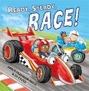 Cover-Bild zu Ready Steady Race von Prasadam-Halls, Smriti