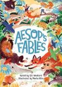 Cover-Bild zu Aesop's Fables, Retold by Elli Woollard (eBook) von Woollard, Elli