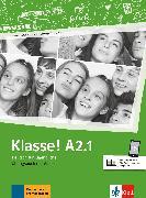 Cover-Bild zu Klasse! A2.1. Übungsbuch mit Audios online von Fleer, Sarah