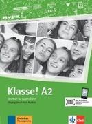 Cover-Bild zu Klasse! A2. Übungsbuch mit Audios online von Fleer, Sarah