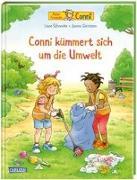 Cover-Bild zu Schneider, Liane: Conni-Bilderbücher: Conni kümmert sich um die Umwelt