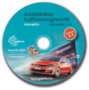 Cover-Bild zu Arbeitsblätter Kraftfahrzeugtechnik Lernfelder 5-8 interaktiv