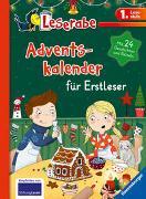 Cover-Bild zu Leserabe - Sonderausgaben: Adventskalender für Erstleser von Kiel, Anja