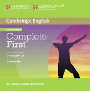 Cover-Bild zu Complete First - Second Edition / 2 Class Audio CDs von Brook-Hart, Guy