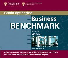 Cover-Bild zu Business Benchmark. C1. BEC Higher Edition. Audio CD von Brook-Hart, Guy