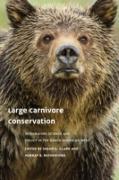 Cover-Bild zu Large Carnivore Conservation (eBook) von Slocombe, D. Scott