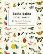 Cover-Bild zu Sechs Beine oder mehr - Die Wunderwelt der Insekten und Spinnen von Teckentrup, Britta