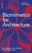 Cover-Bild zu Biomimetics for Architecture (eBook) von Knippers, Jan (Hrsg.)
