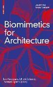 Cover-Bild zu Biomimetics for Architecture von Knippers, Jan (Hrsg.)