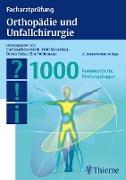 Cover-Bild zu Facharztprüfung Orthopädie und Unfallchirurgie (eBook) von Pohlemann, Tim (Hrsg.)