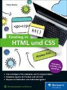 Cover-Bild zu Einstieg in HTML und CSS (eBook) von Müller, Peter