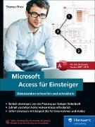 Cover-Bild zu Microsoft Access für Einsteiger (eBook) von Theis, Thomas