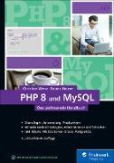 Cover-Bild zu PHP 8 und MySQL (eBook) von Wenz, Christian