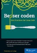 Cover-Bild zu Besser coden (eBook) von Post, Uwe