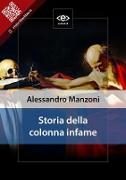 Cover-Bild zu Storia della colonna infame (eBook) von Manzoni, Alessandro