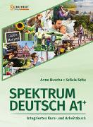 Cover-Bild zu Spektrum Deutsch A1+: Integriertes Kurs- und Arbeitsbuch für Deutsch als Fremdsprache von Buscha, Anne