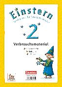 Cover-Bild zu Einstern, Mathematik, Ausgabe 2015, Band 2, Themenhefte 1-5 und Kartonbeilagen mit Schuber, Verbrauchsmaterial von Bauer, Roland