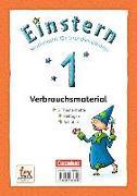 Cover-Bild zu Einstern, Mathematik, Ausgabe 2015, Band 1, Themenhefte 1-5 und Kartonbeilagen mit Schuber, Verbrauchsmaterial von Bauer, Roland