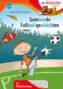 Cover-Bild zu Spannende Fußballgeschichten von Röhrig, Volkmar