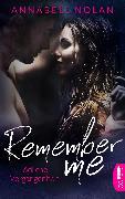 Cover-Bild zu Nolan, Annabell: Remember Me - Tödliche Vergangenheit (eBook)