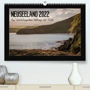 Cover-Bild zu Neuseeland - Auf Entdeckungstour entlang der Küste (Premium, hochwertiger DIN A2 Wandkalender 2022, Kunstdruck in Hochglanz) von Kirchner, Angela