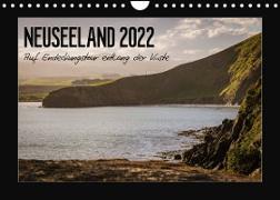 Cover-Bild zu Neuseeland - Auf Entdeckungstour entlang der Küste (Wandkalender 2022 DIN A4 quer) von Kirchner, Angela