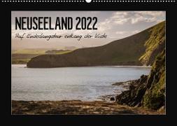 Cover-Bild zu Neuseeland - Auf Entdeckungstour entlang der Küste (Wandkalender 2022 DIN A2 quer) von Kirchner, Angela