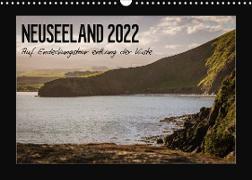 Cover-Bild zu Neuseeland - Auf Entdeckungstour entlang der Küste (Wandkalender 2022 DIN A3 quer) von Kirchner, Angela