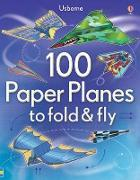 Cover-Bild zu 100 Paper Planes to Fold and Fly von Tudor, Andy (Illustr.)