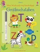 Cover-Bild zu Greenwell, Jessica: Mein Wisch-und-weg-Vorschulspaß: Großbuchstaben