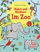 Cover-Bild zu Greenwell, Jessica: Malen und Stickern: Im Zoo
