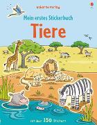 Cover-Bild zu Greenwell, Jessica: Mein erstes Stickerbuch: Tiere