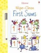 Cover-Bild zu Greenwell, Jessica: Wipe Clean: First Sums