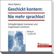 Cover-Bild zu Geschickt kontern: Nie mehr sprachlos! von Ryborz, Heinz
