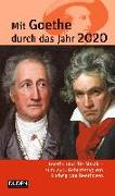 Cover-Bild zu Mit Goethe durch das Jahr 2020 von Klauß, Jochen