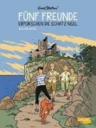 Cover-Bild zu Fünf Freunde 1: Fünf Freunde erforschen die Schatzinsel von Blyton, Enid