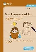 Cover-Bild zu Texte lesen und verstehen - aber wie? von Lassert, Ursula