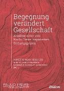 Cover-Bild zu Begegnung verändert Gesellschaft (eBook) von Hinz, Andreas (Beitr.)