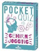 Cover-Bild zu Pocket Quiz Gehirnjogging von Kiefer, Philip
