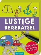 Cover-Bild zu Lustige Reiserätsel von Kiefer, Philip