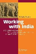 Cover-Bild zu Working with India (eBook) von Messner, Wolfgang
