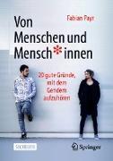 Cover-Bild zu Von Menschen und Mensch*innen (eBook) von Payr, Fabian