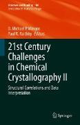 Cover-Bild zu 21st Century Challenges in Chemical Crystallography II (eBook) von Mingos, D. Michael P. (Hrsg.)