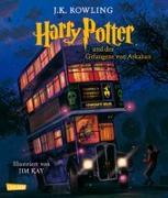 Cover-Bild zu Harry Potter und der Gefangene von Askaban (vierfarbig illustrierte Schmuckausgabe) (Harry Potter 3) von Rowling, J.K.