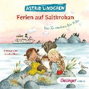 Cover-Bild zu Ferien auf Saltkrokan. Ein Kaninchen für Pelle (Audio Download) von Lindgren, Astrid