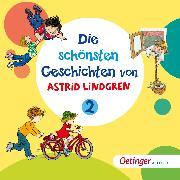 Cover-Bild zu Die schönsten Geschichten von Astrid Lindgren 2 (Audio Download) von Lingren, Astrid